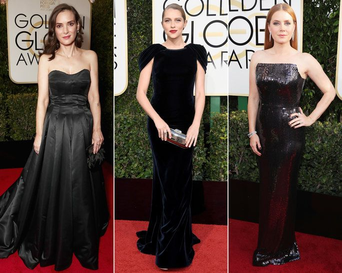 ファッション Not Your Average Dress 2017 Golden Globes - LEAD