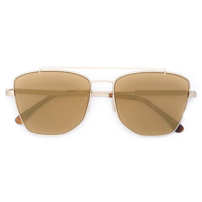 ゴールドトーン Aviator Sunglasses