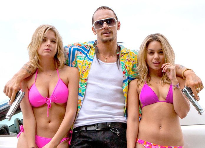 ヴァネッサ Hudgens James Franco Spring Breakers