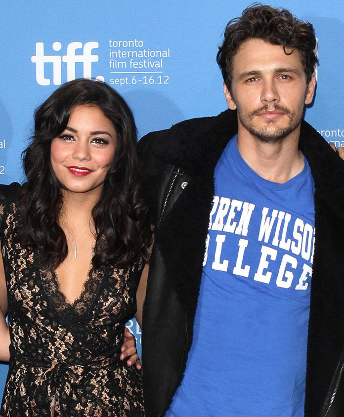 ヴァネッサ Hudgens and James Franco