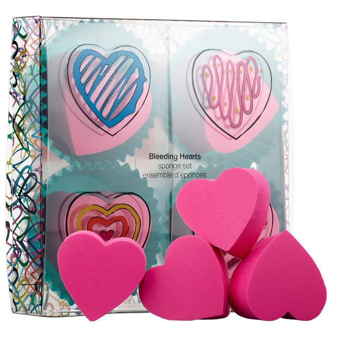 י Goldcrown for Sephora Collection: Bleeding Hearts Sponge Set