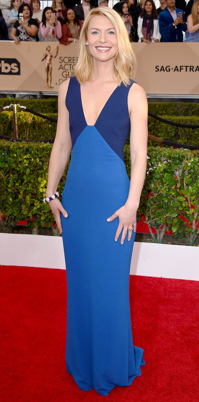 קלייר Danes - Screen Actors Guild Awards 2016