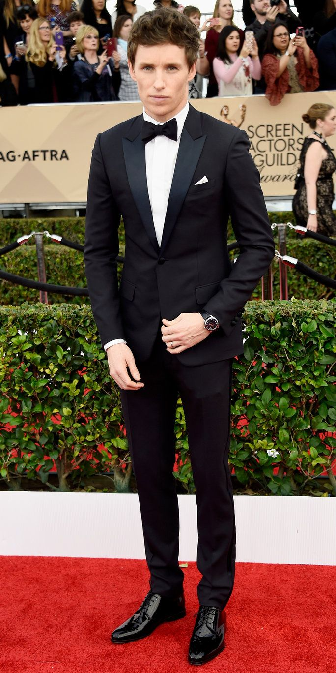 אדי Redmayne - Screen Actors Guild Awards 2016