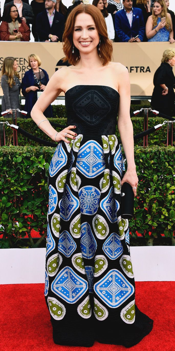 אלי Kemper - Screen Actors Guild Awards 2016