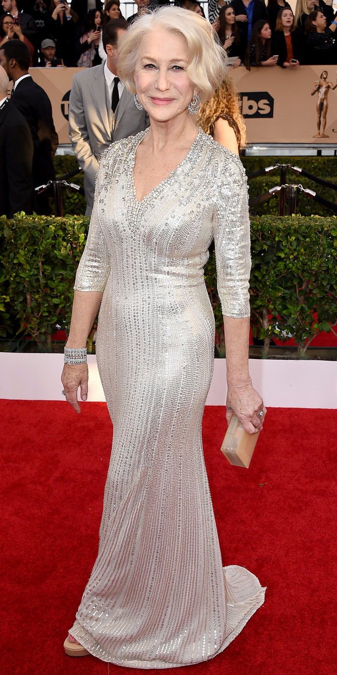 הלן Mirren - Screen Actors Guild Awards 2016