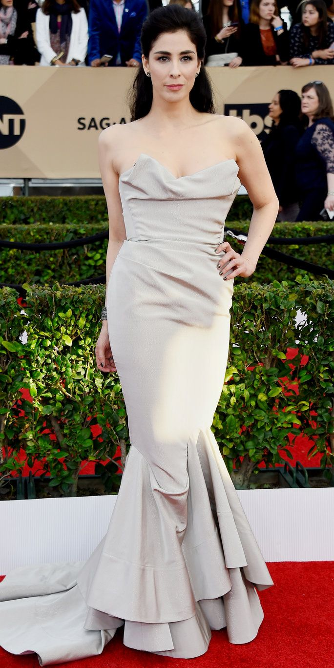 שרה Silverman - Screen Actors Guild Awards 2016