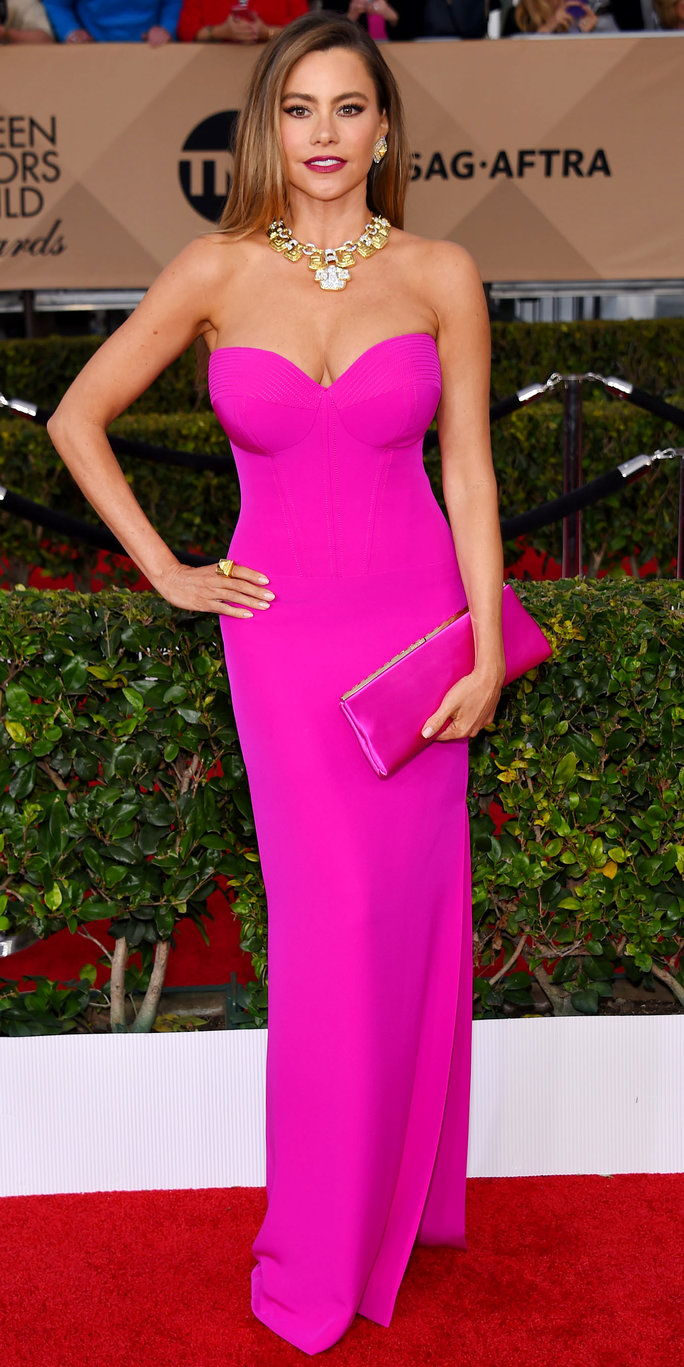 סופיה Vergara - Screen Actors Guild Awards 2016