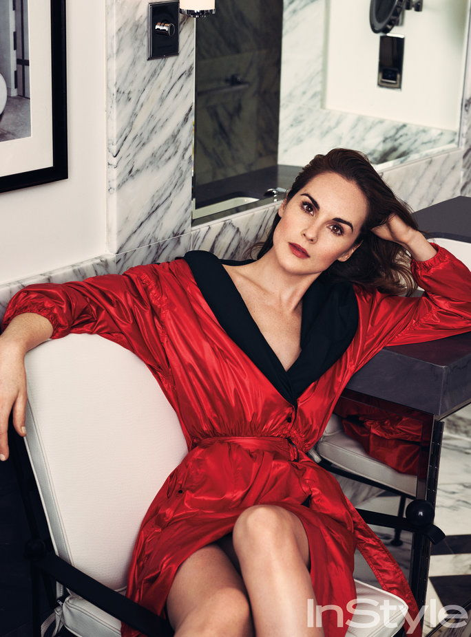 InStyle March 2017 FMD Michelle Dockery 3 - Lead