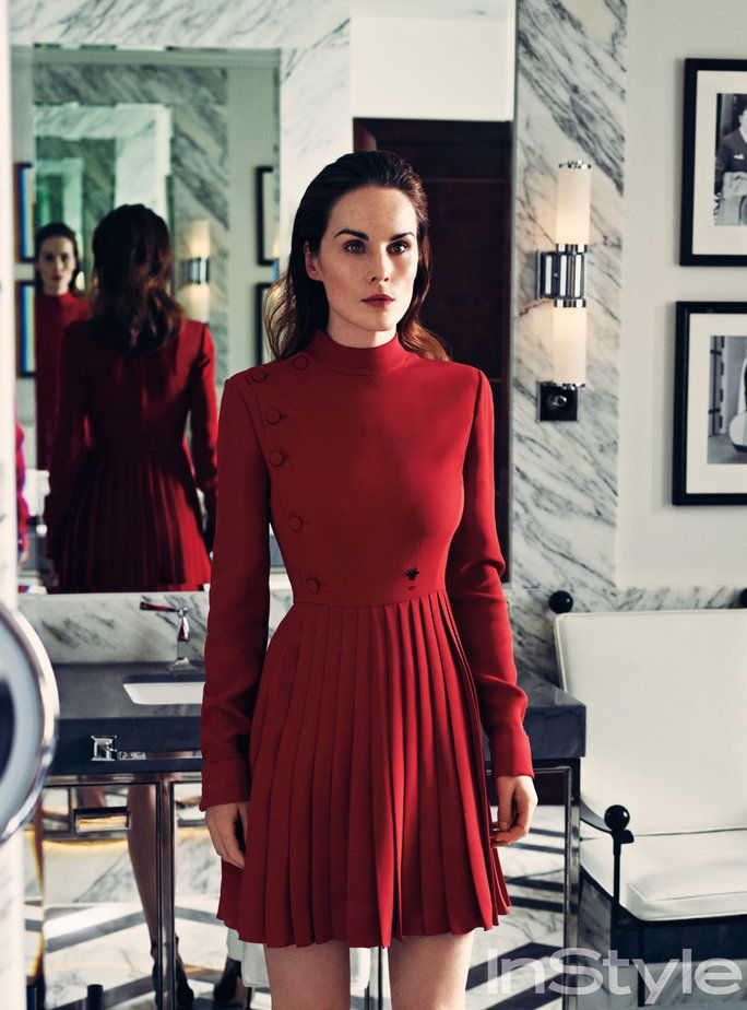 InStyle March 2017 FMD Michelle Dockery 5 - Lead