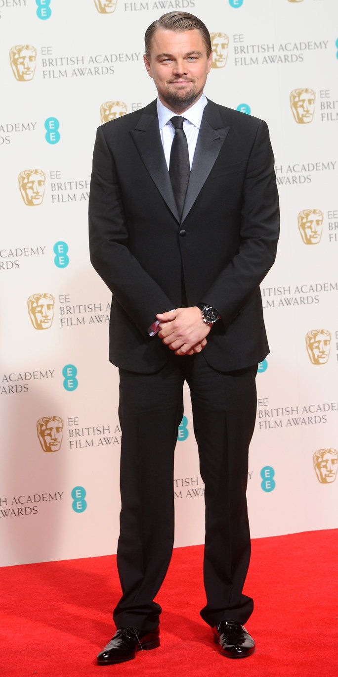 ב the EE British Academy Film Awards in London, 2014.