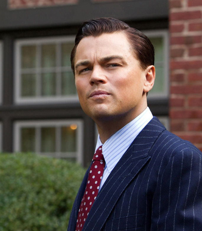 ה WOLF OF WALL STREET, Leonardo DiCaprio, 2013, ph: Mary Cybulski/©Paramount Pictures/courtesy Everett Collection