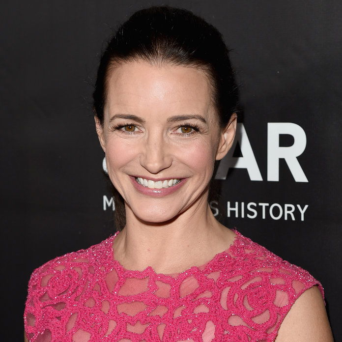 שחקנית Kristin Davis attends amfAR LA Inspiration Gala honoring Tom Ford at Milk Studios on October 29, 2014 in Hollywood, California.