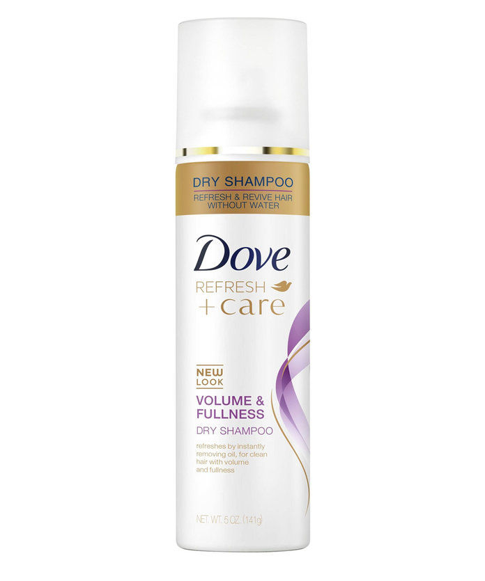 에 대한 Fine Hair: Dove Refresh + Care Volume & Fullness Dry Shampoo