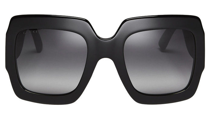 מבריק RUBBER SQUARE SUNGLASSES