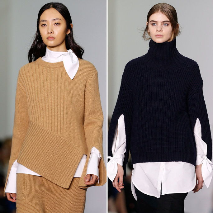 チャッキー SWEATER-AND-WHITE SHIRT COMBOS
