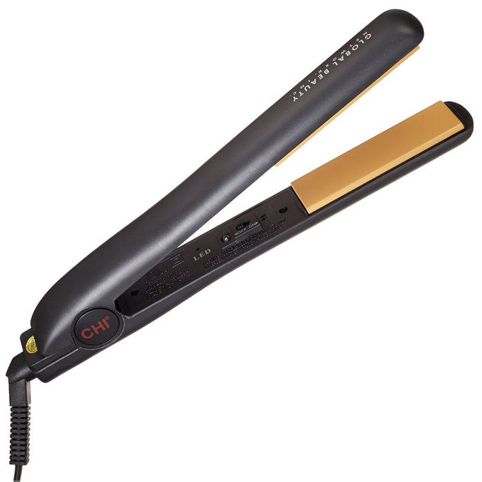 "치 Original Pro 1"" Ceramic Ionic Tourmaline Flat Iron Hair Straightener"