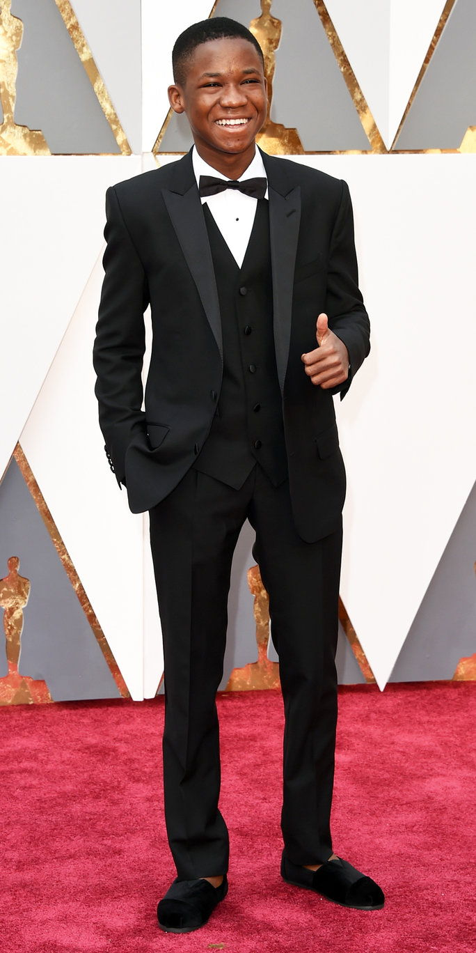 אברהם Attah at the Oscars 2016