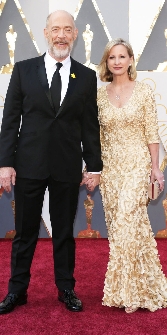 J. K. Simmons and Michelle Schumacher - Oscars 2016