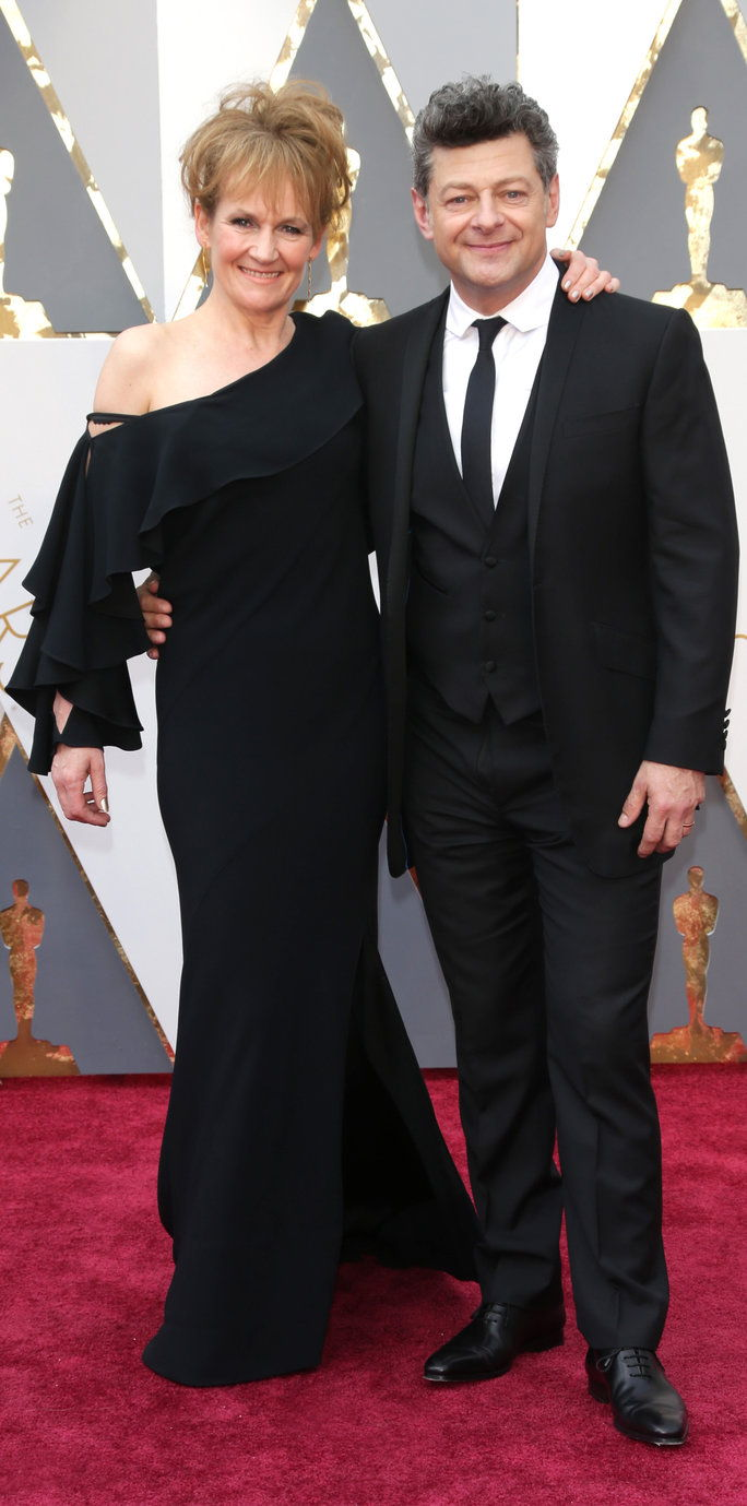 אנדי Serkis and Lorraine Ashbourne