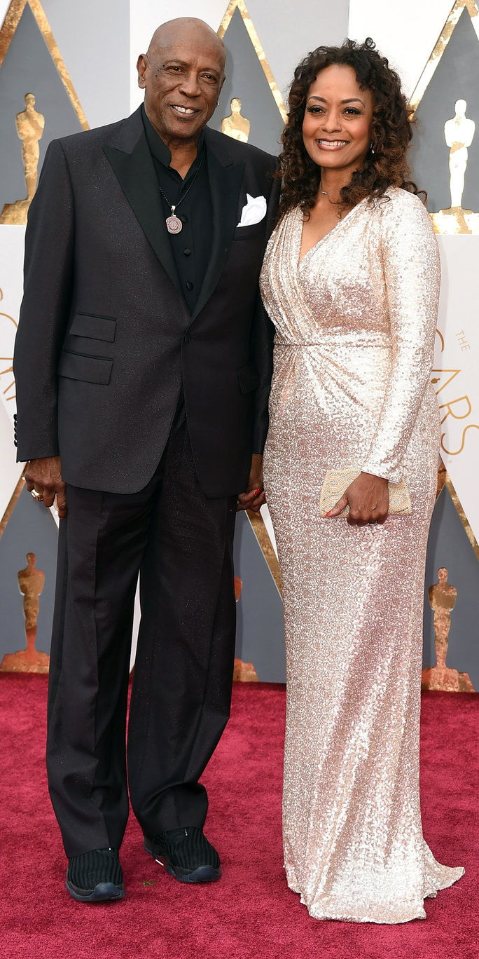 לואי Gossett Jr. and Candy Brown - Oscars 2016