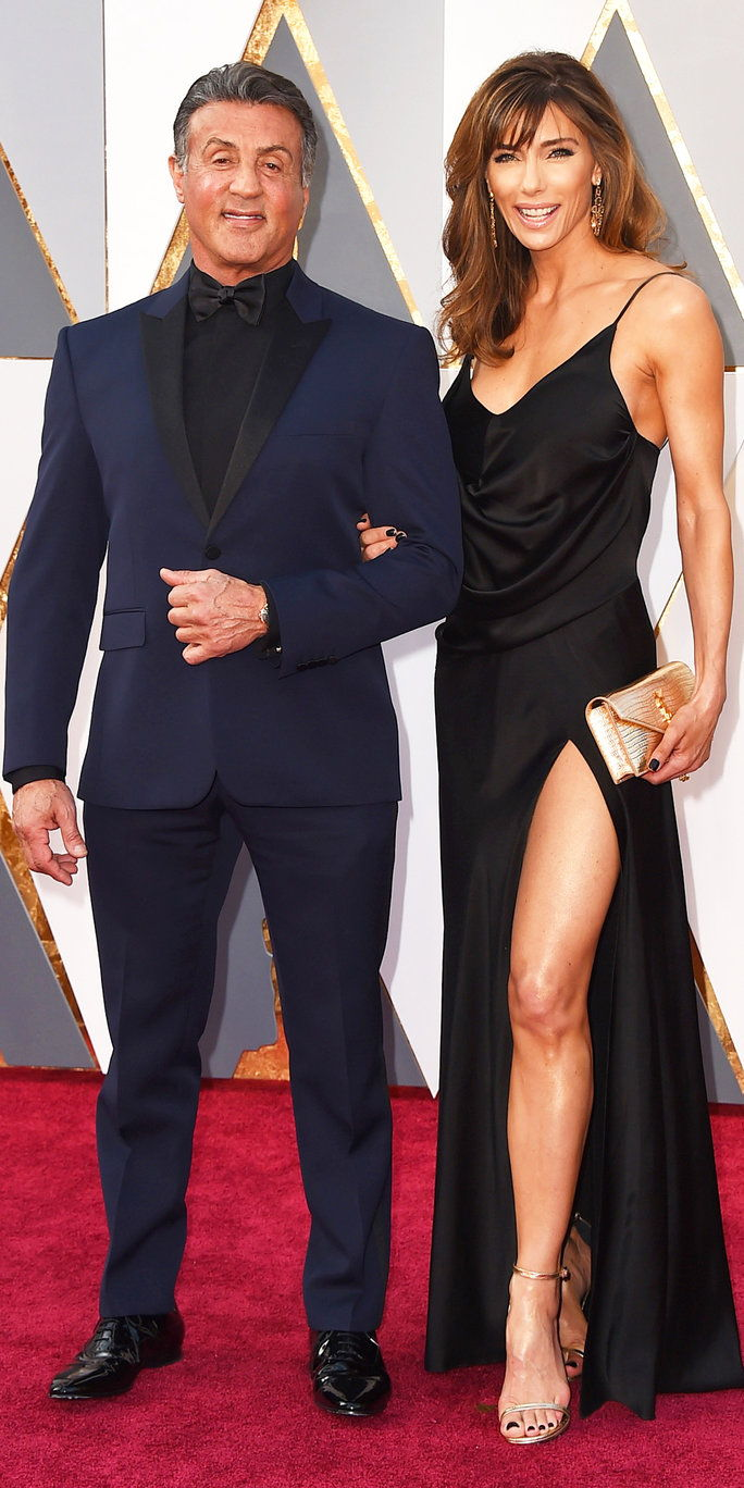 סילבסטר Stallone and Jennifer Flavin