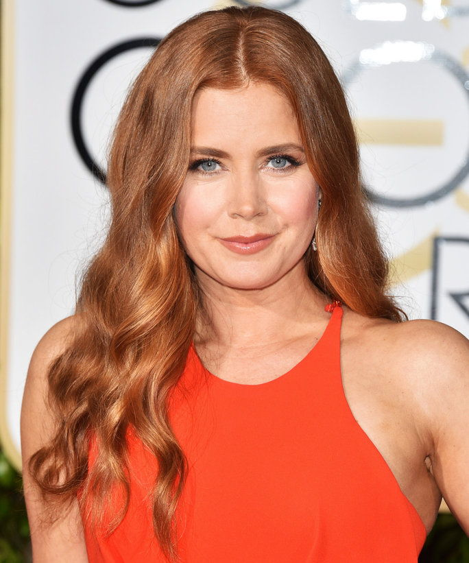 2016 년 Golden Globes Amy Adams Beauty Lead