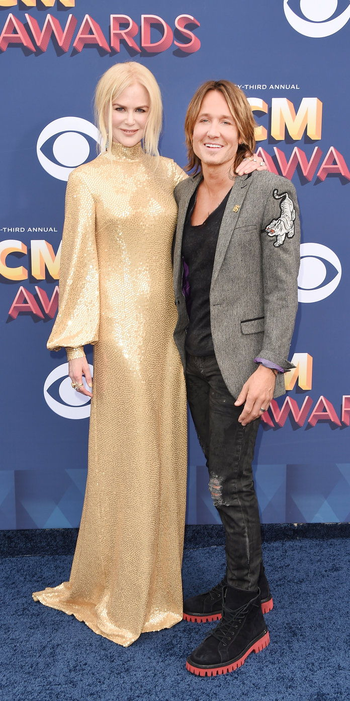 ニコール Kidman and Keith Urban