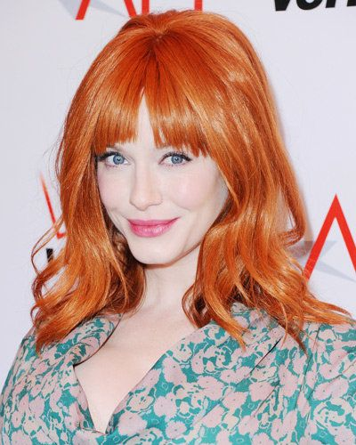 베스트 Bangs - Christina Hendricks
