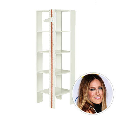 שרה Jessica Parker, measurement shelf, kids' products