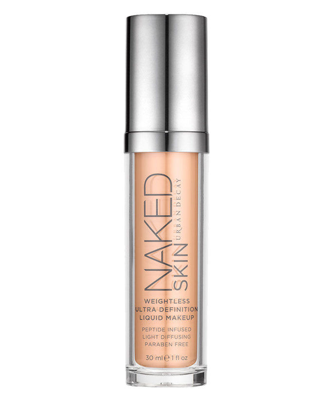 都市 Decay Naked Skin Weightless Ultra Definition Liquid Makeup