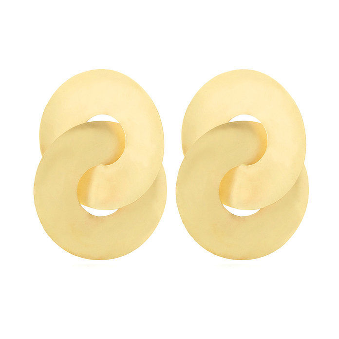 פארי brass earrings