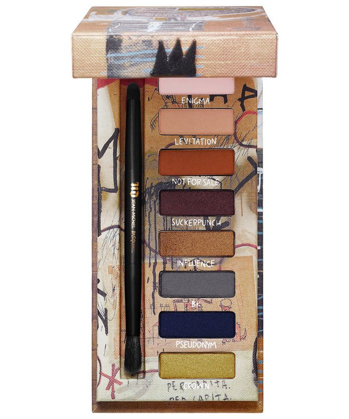 עירוני Decay x Jean Michael Basquiat Gold Griot Eyeshadow Palette