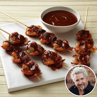 גיא Fieri - Bacon Wrapped Shrimp - Summer Recipes