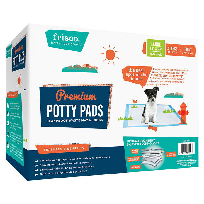 フリスコ Training & Potty Pads