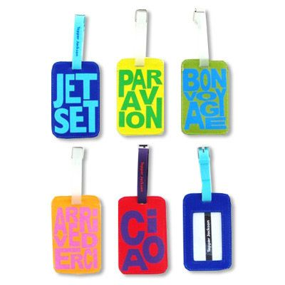 明るい Luggage Tags