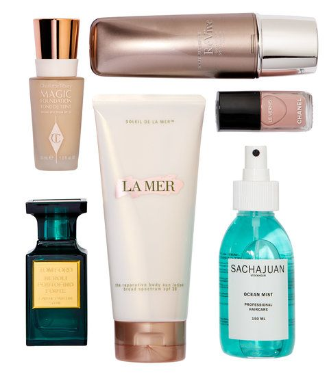 샬럿 TILBURY MAGIC FOUNDATION LA MER REPARATIVE BODY SUN LOTION TOM FORD NEROLI PORTOFINO FORTE SACHAJUAN OCEAN MIST CHANEL NAIL POLISH IN ORGANDI SOLIELI SUPERIOR REVIVE SPF 50