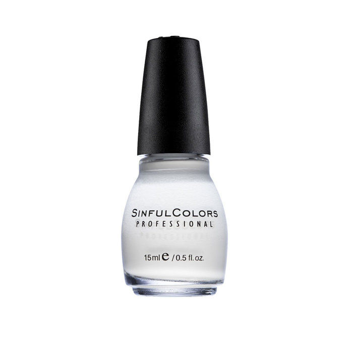 죄가 많은 Colors Nail Polish in Snow Me White