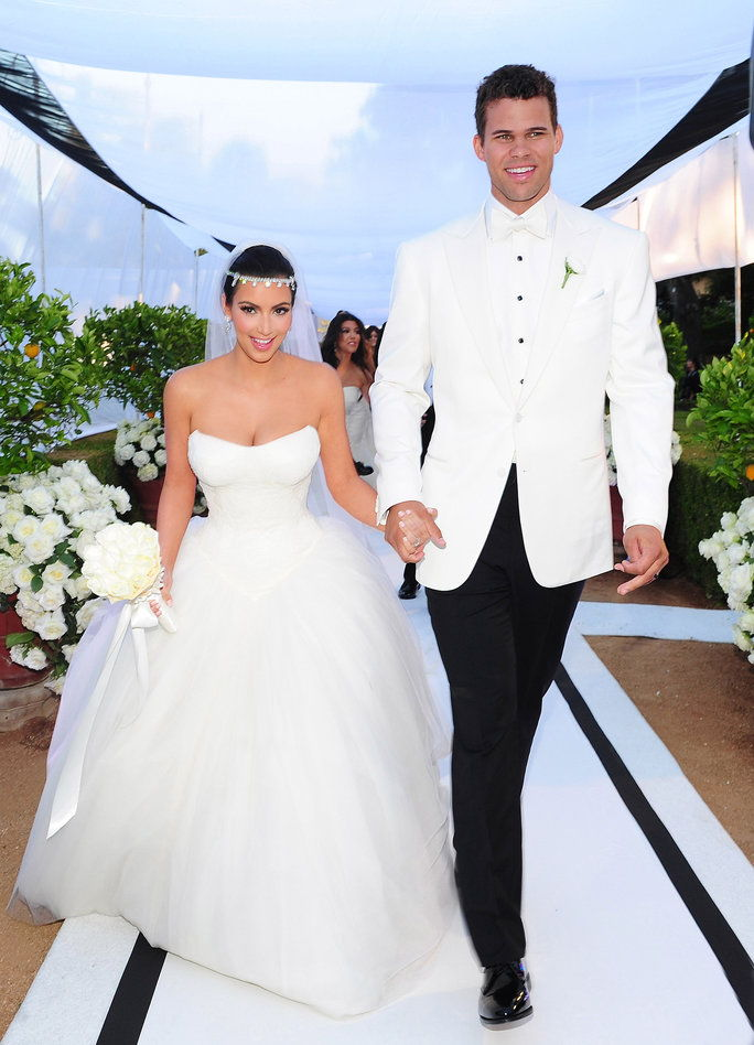 김 Kardashian and Kris Humphries (2011)