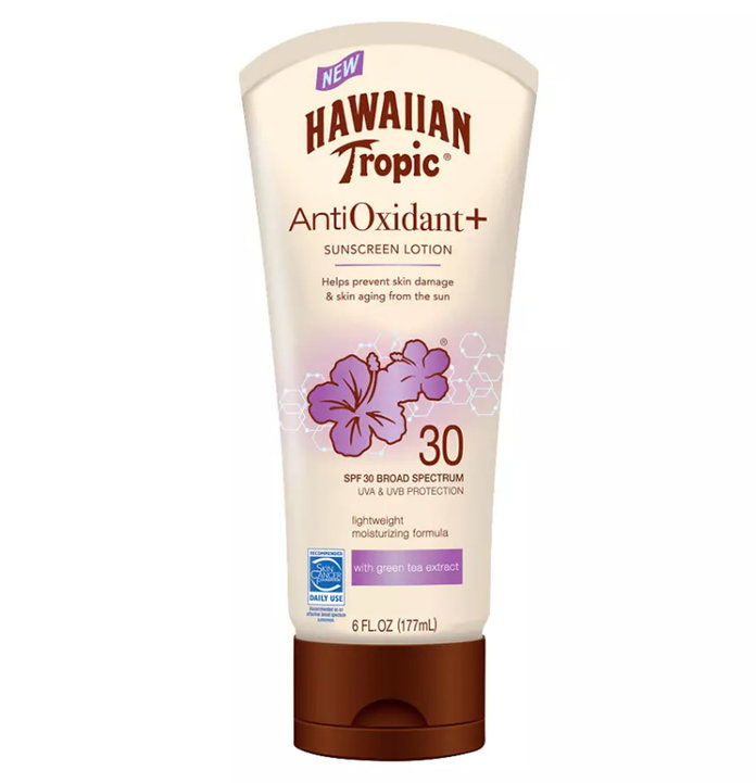 ハワイアン Tropic Antioxidant+ Sunscreen Lotion SPF 30