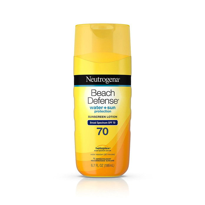 ニュートロジーナ Beach Defense Sunscreen SPF 70