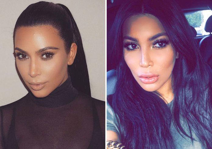 קים Kardashian West