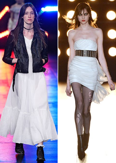 ג 'ניפר Aniston Wedding Dresses Saint Laurent