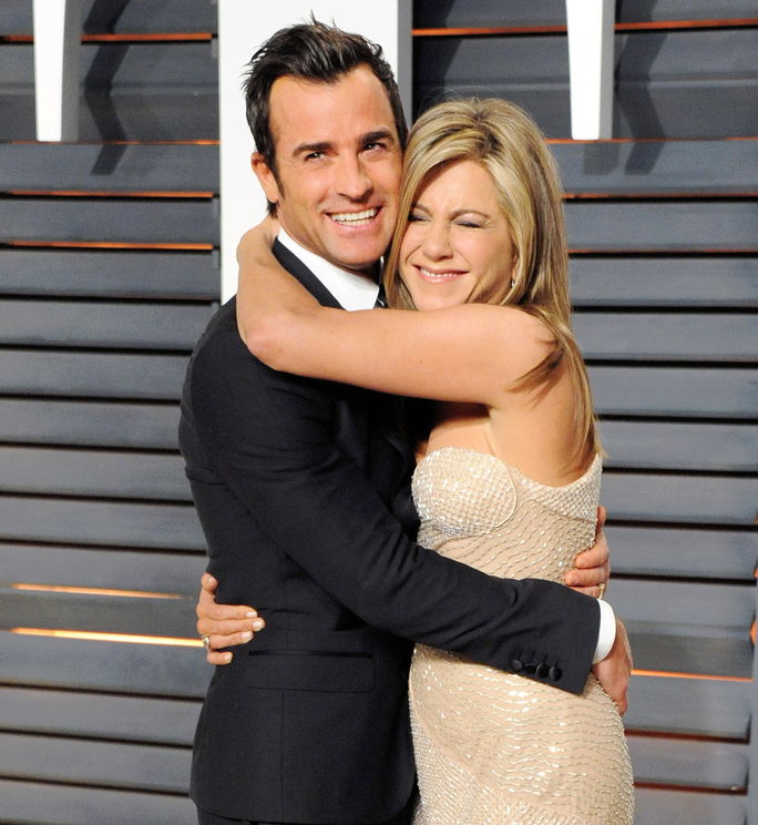 제니퍼 Aniston and Justin Theroux FEBRUARY 22 2015