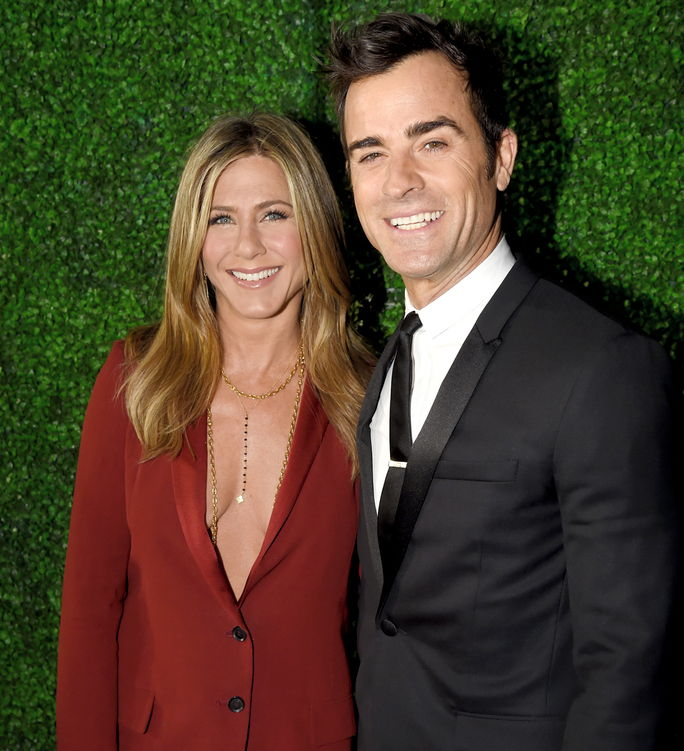 제니퍼 Aniston and Justin Theroux ANUARY 15 2015