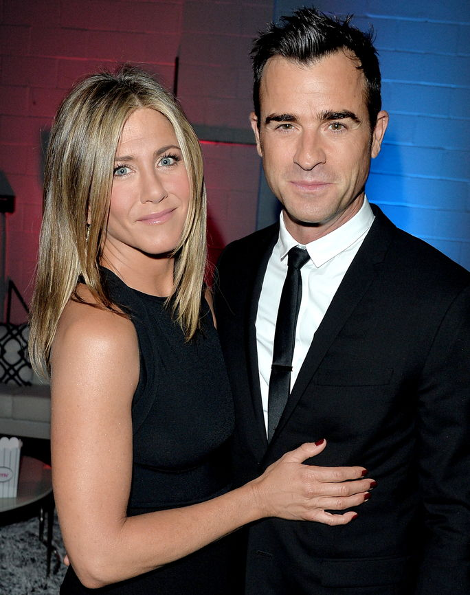 제니퍼 Aniston and Justin Theroux SEPTEMBER 8 2014