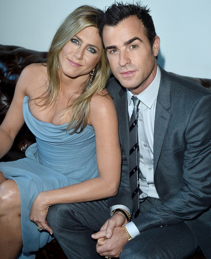 제니퍼 Aniston and Justin Theroux SEPTEMBER 14 2013
