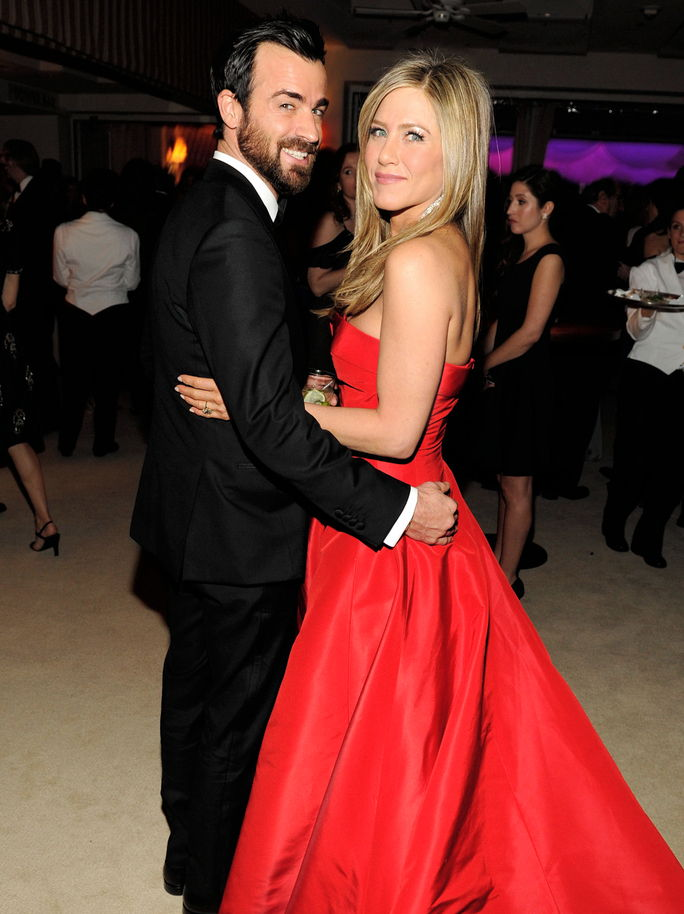 제니퍼 Aniston and Justin Theroux FEBRUARY 24 2013