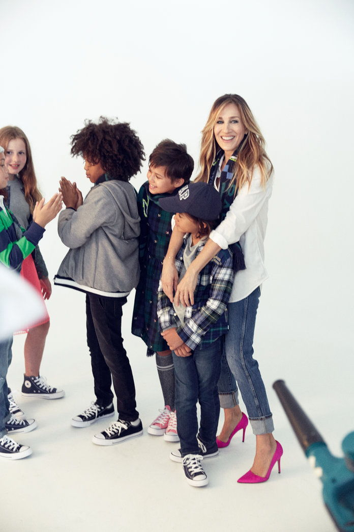 SJP Gap Kids BTS - Slide - 1