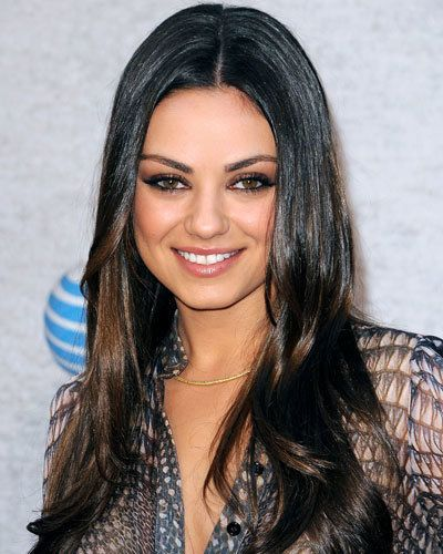 מילה Kunis - The 9 Hottest Hair Colors for Fall 2011 - Perked-Up Brunet