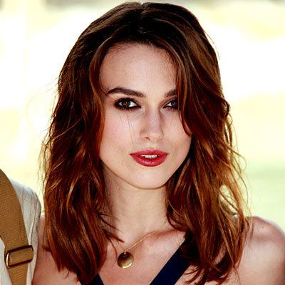 קירה Knightley, waves, hair, beauty, curling iron, beauty, make up, daily beauty flash